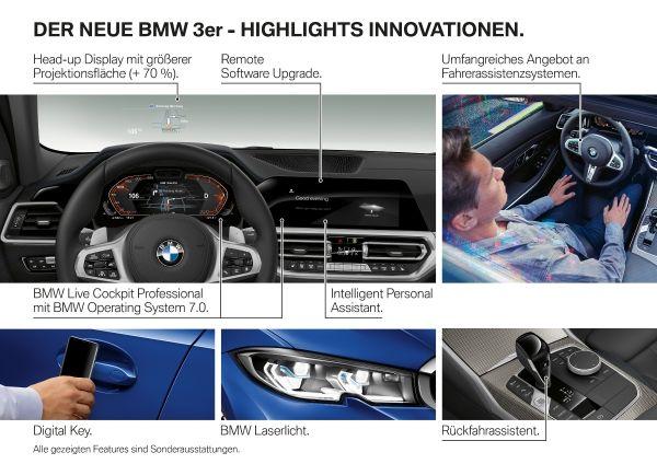 BMW radu 3 G20 feature