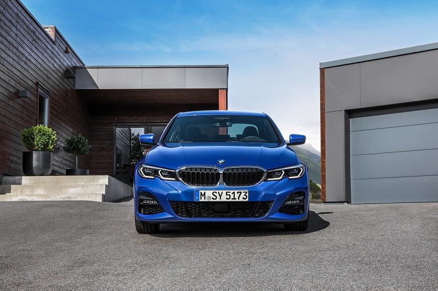 BMW radu 3 exteriér zpredu