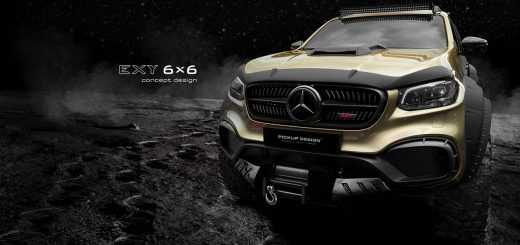 mercedes benz x class 6x6 by carlex design