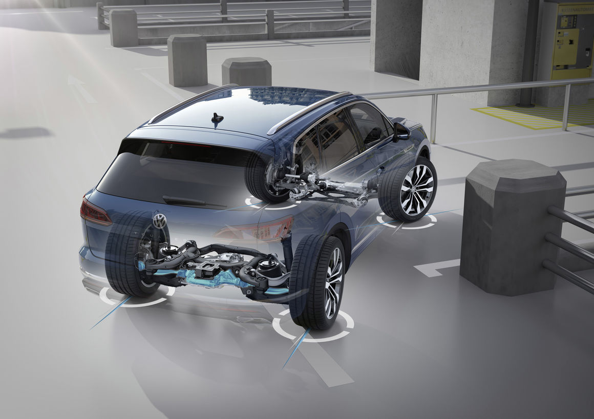 VW Touareg V8