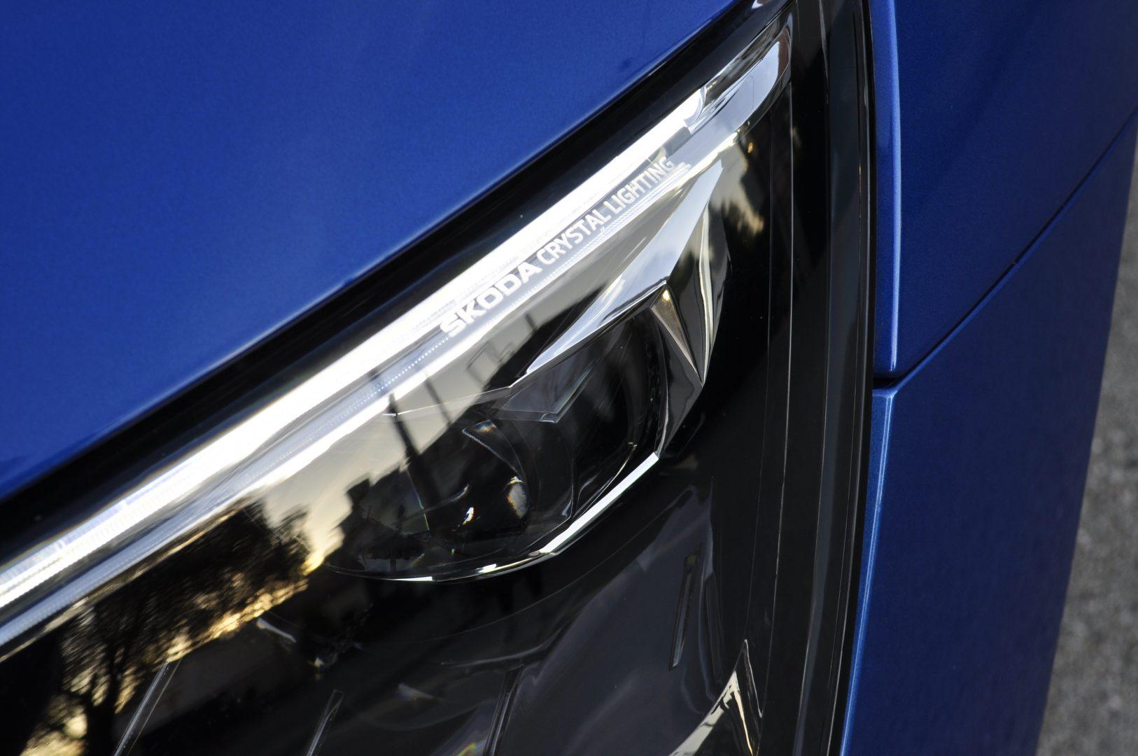 Škoda Scala detail