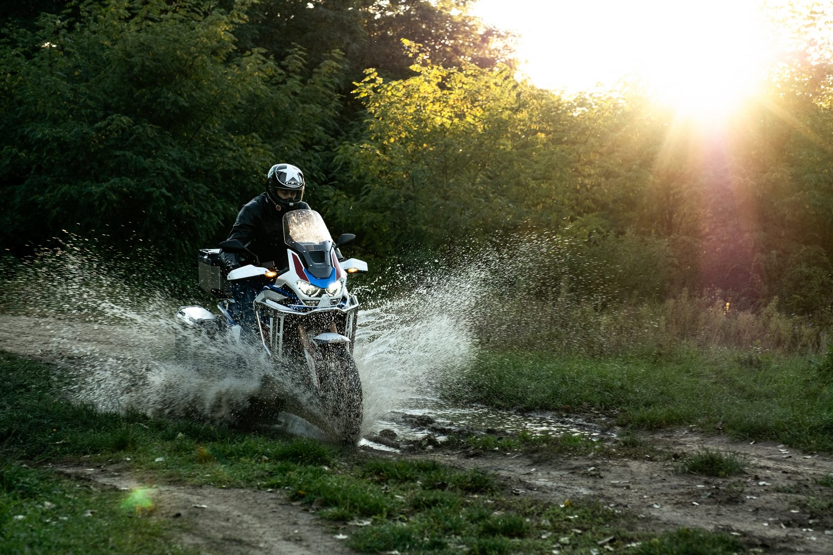 honda africa twin 1100 2020 2021 adventure sports test recenze recenzia motocyklov moto testy Daniel Chovanec pretekar zavodnik