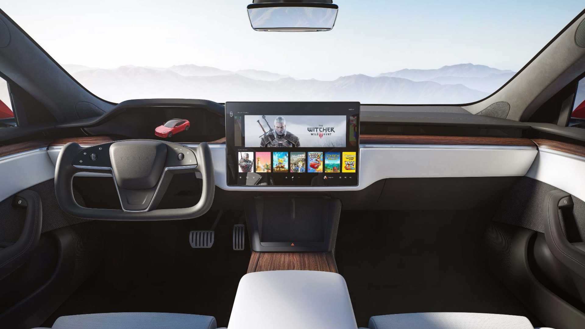 Tesla Model S 2021 Interiér