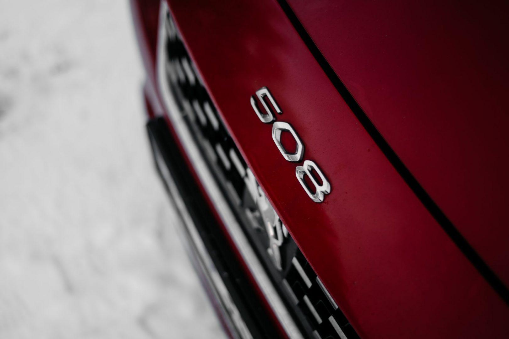 peugeot 508 GT Line detail
