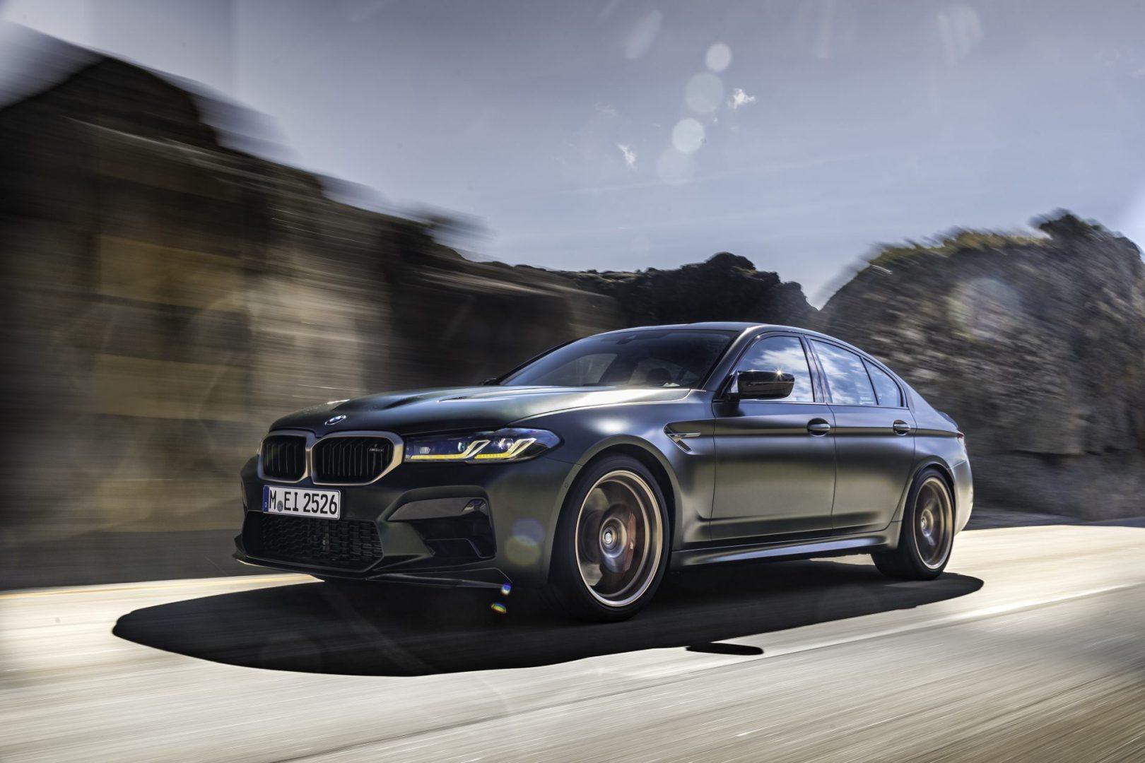 BMW M5 CS exteriér