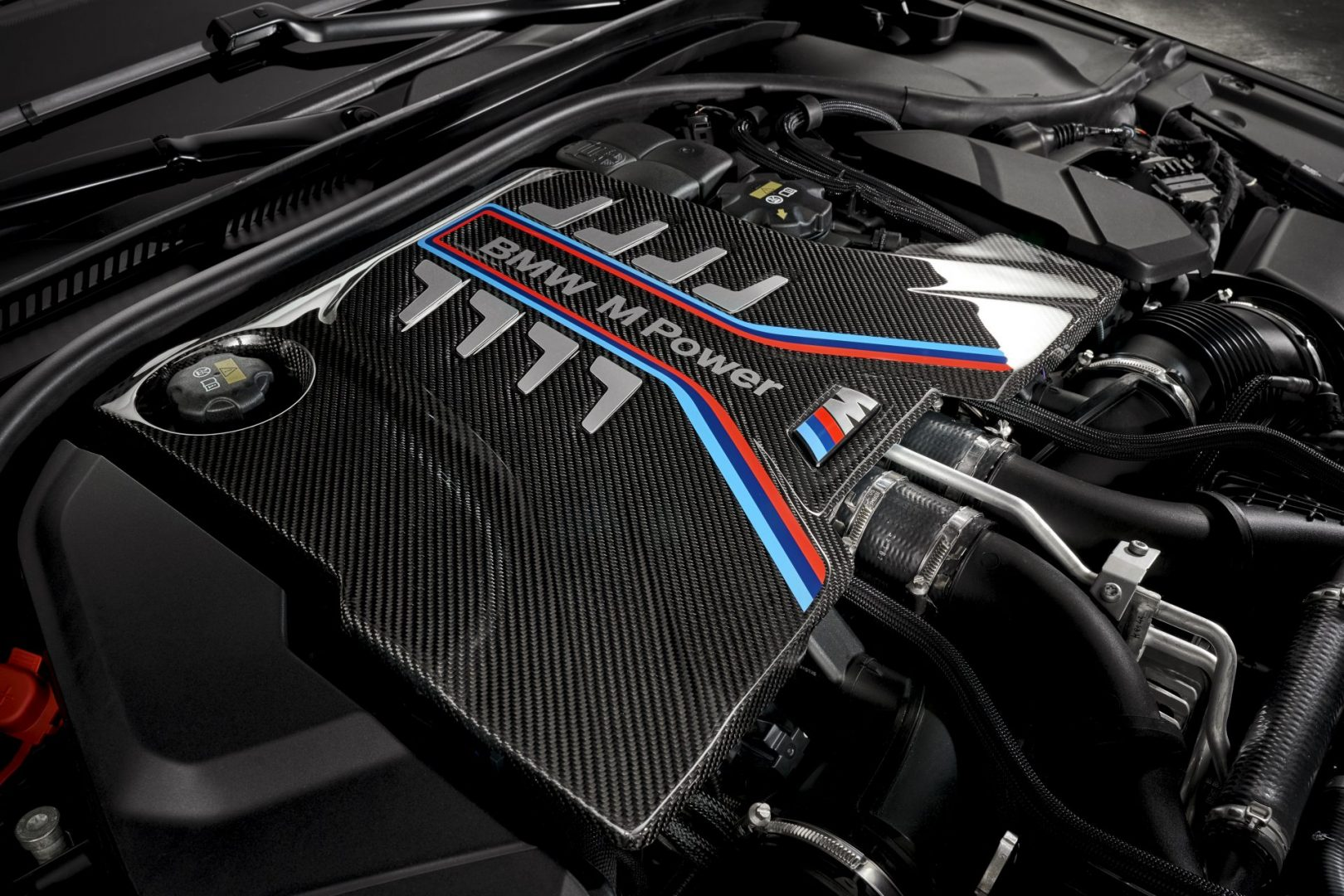 BMW M5 CS motor