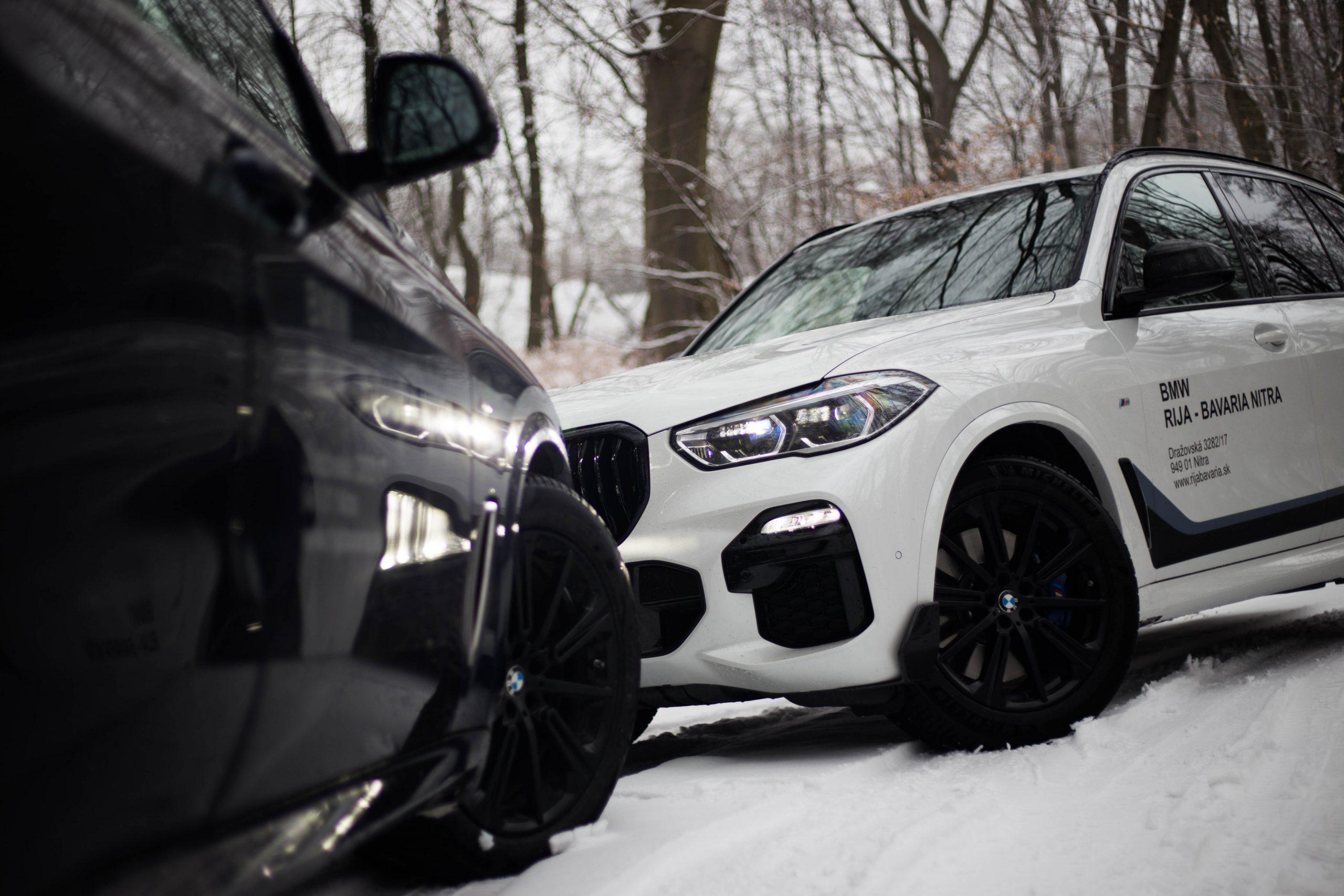 BMW X5 M50d vs 40i