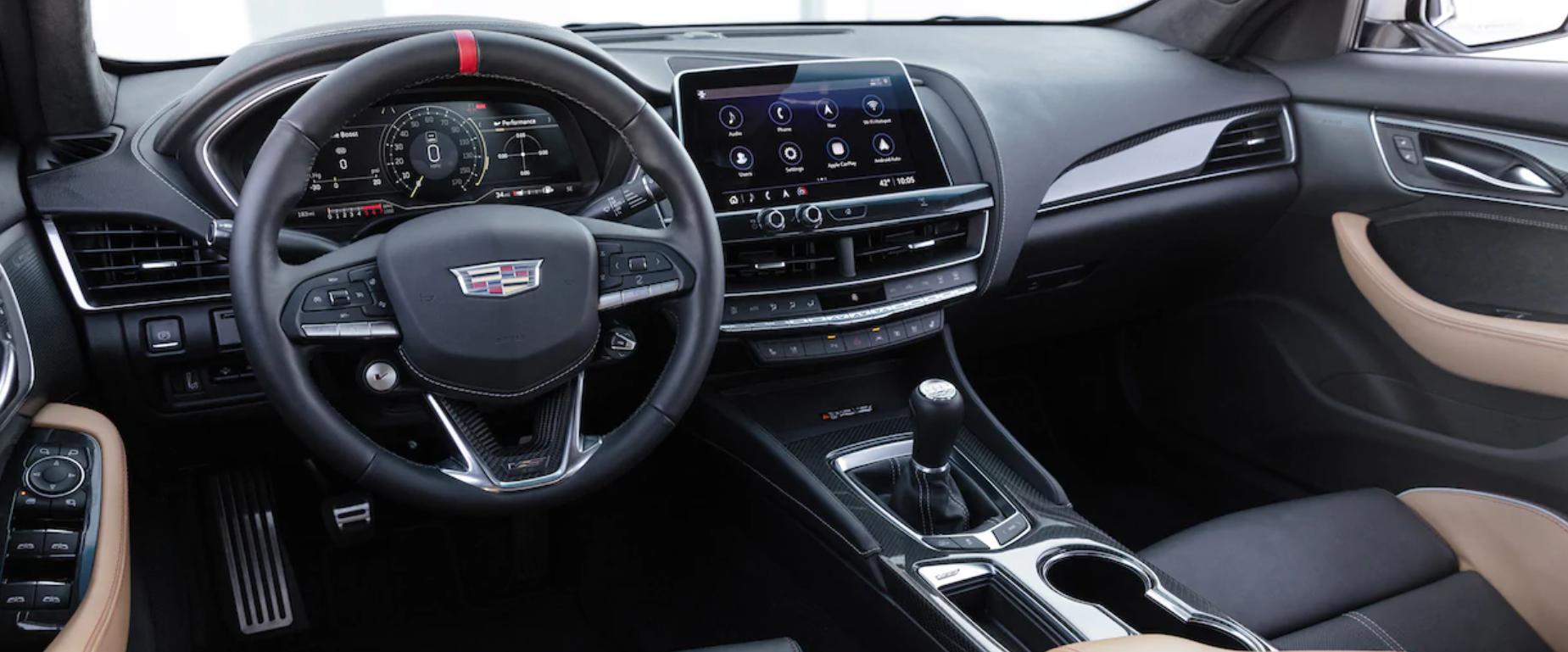 Cadillac CT5-V interiér