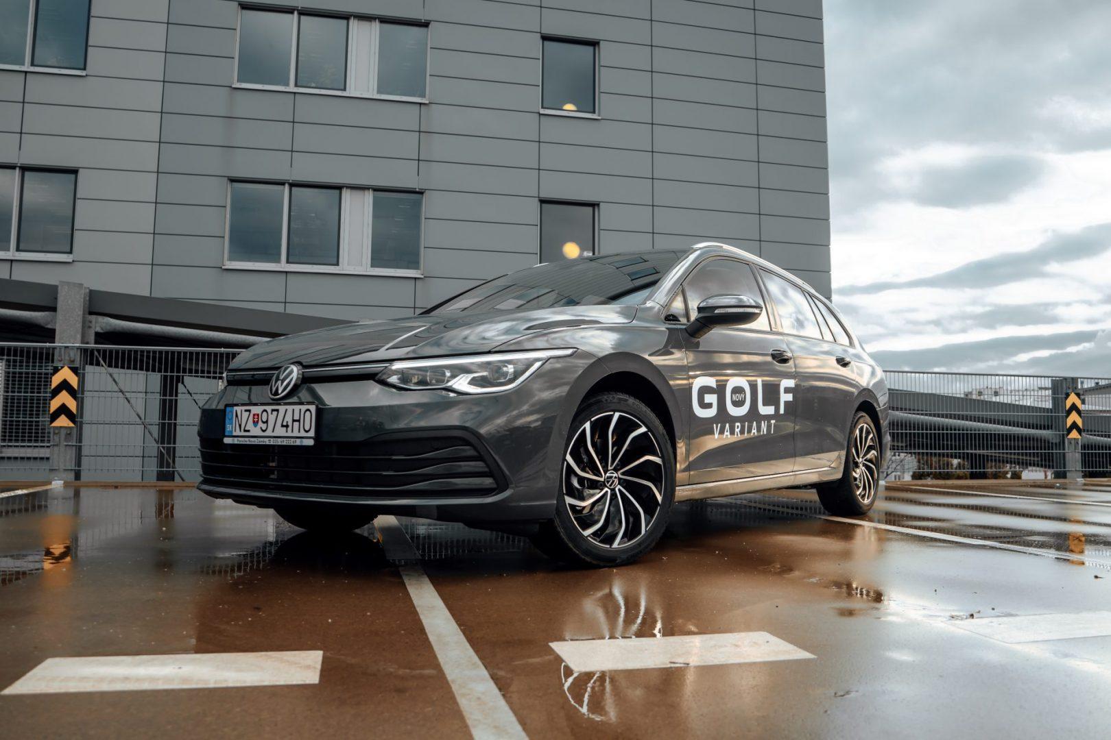 Golf 8 Variant exteriér
